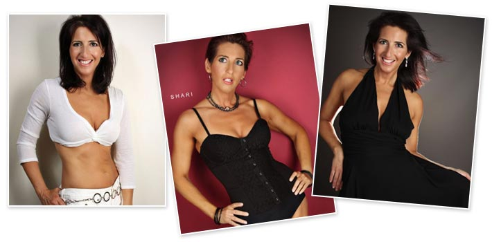 Transformation Over 40 with Shari Fitness